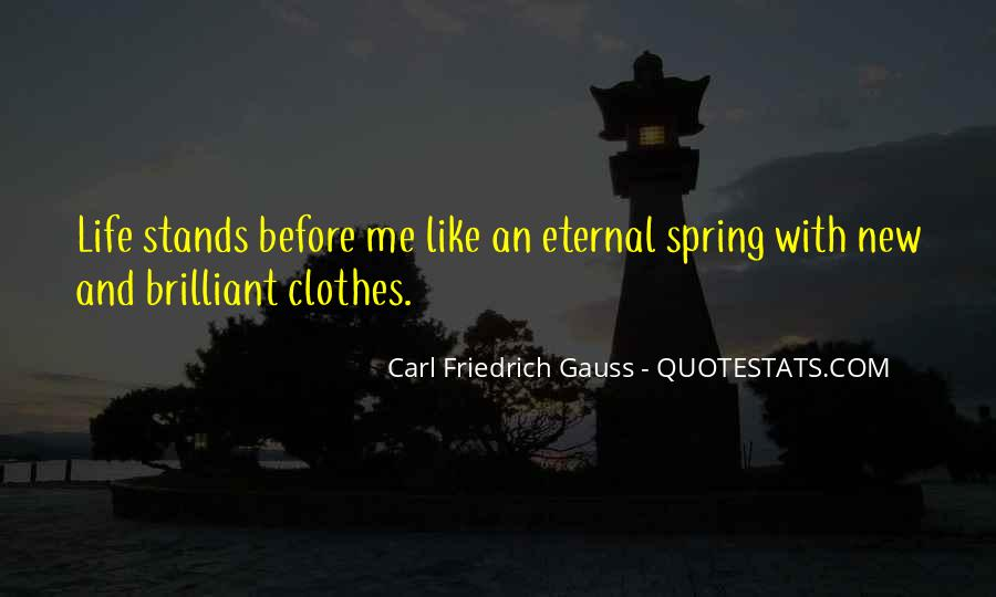 Quotes About Spring New Life #1742625