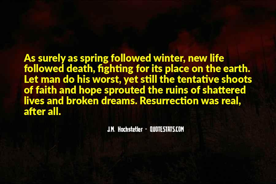 Quotes About Spring New Life #513101