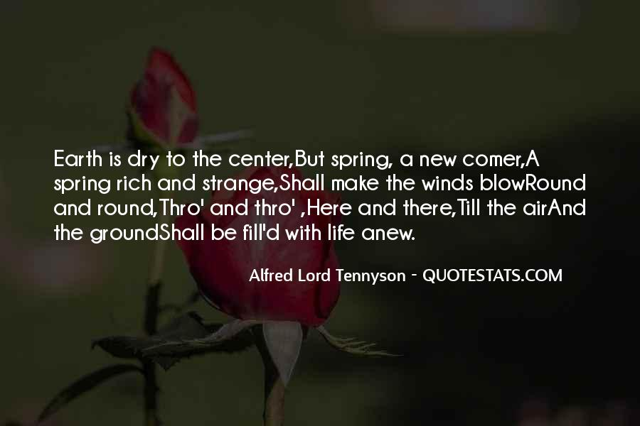 Quotes About Spring New Life #749010