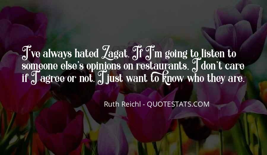 Zagat Quotes #1854517