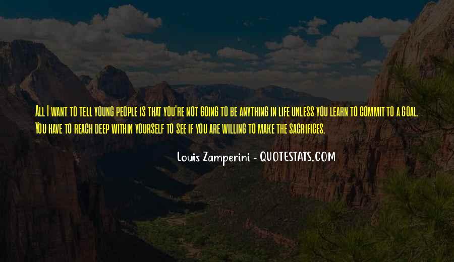 Zamperini Quotes #303248