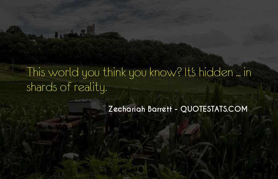Zechariah Quotes #1024078