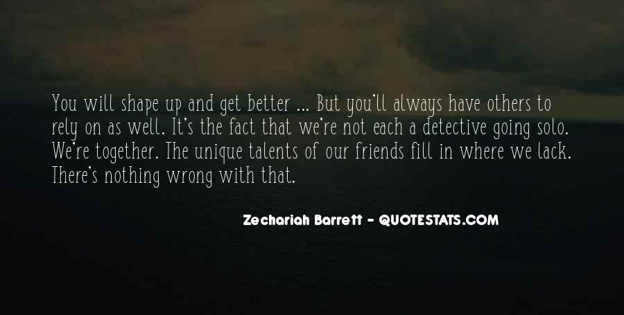 Zechariah Quotes #660961