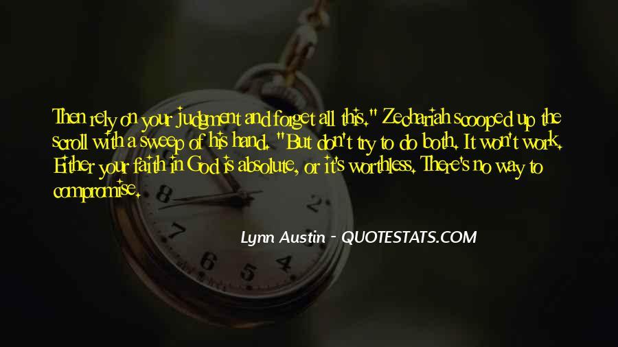 Zechariah Quotes #967892