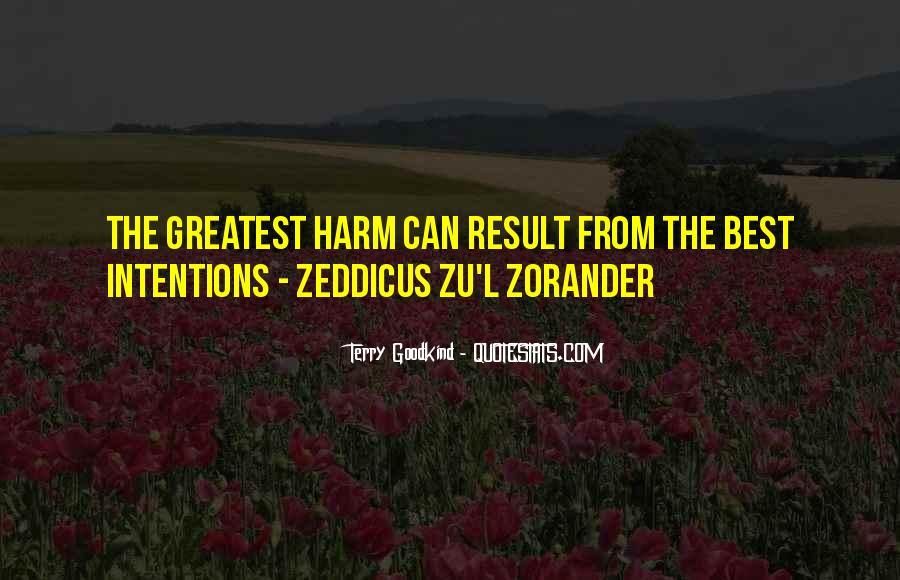 Zeddicus Zu Zorander Quotes #1096362