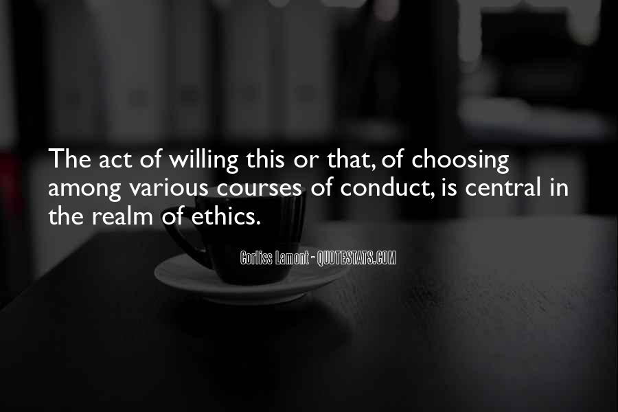 Quotes About Choosing Courses #1742467