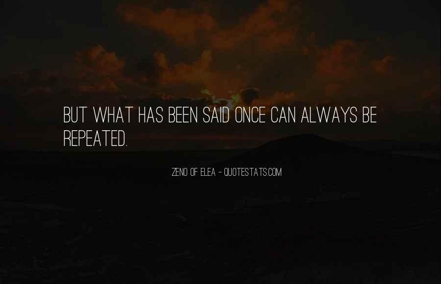 Zeno Elea Quotes #341298
