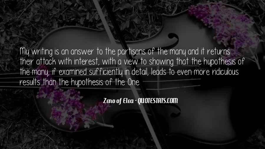 Zeno Elea Quotes #378438