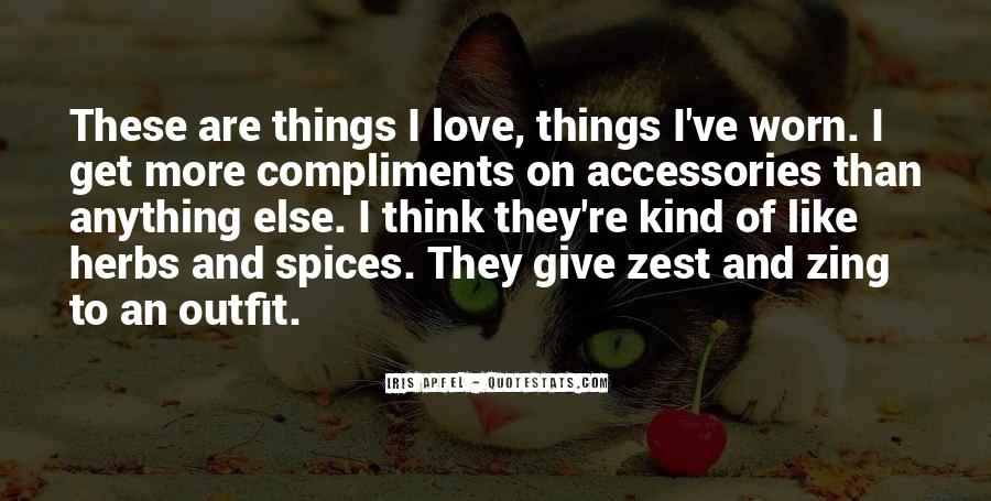 Zest Love Quotes #1227448