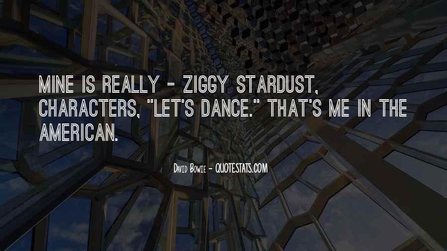 Ziggy Stardust Quotes #134814