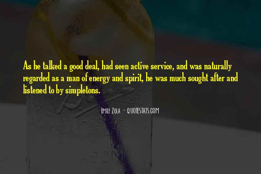 Zola Emile Quotes #565759
