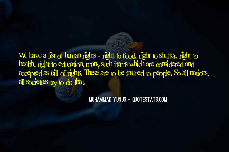 Quotes About Human Rights Education #1002353