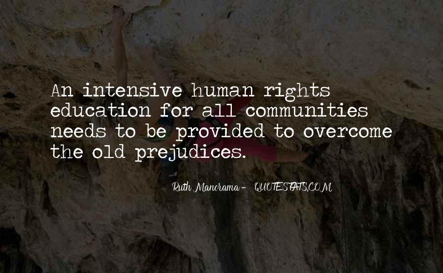 Quotes About Human Rights Education #1447240