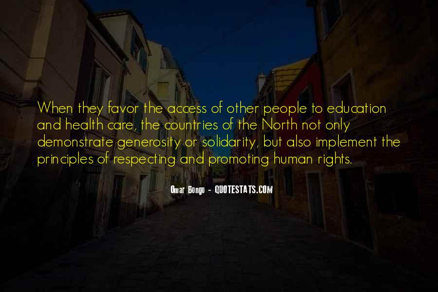 Quotes About Human Rights Education #1644969