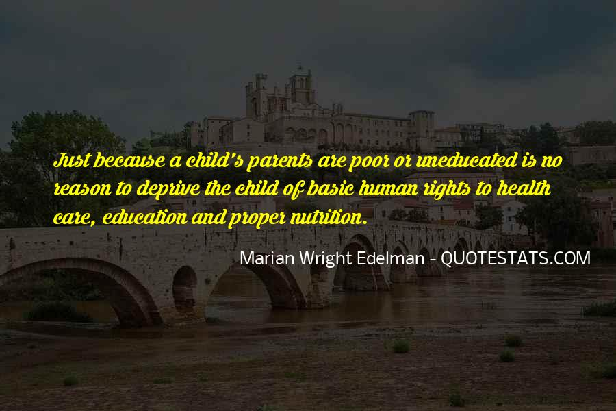 Quotes About Human Rights Education #230977