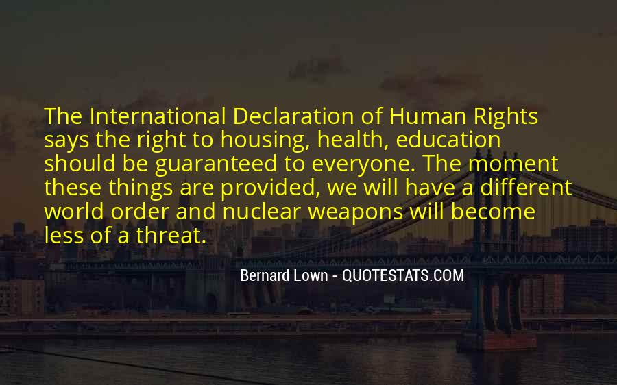 Quotes About Human Rights Education #362131