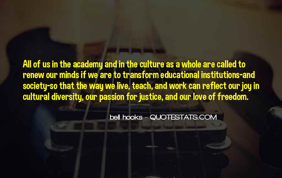 Quotes About Educational Institutions #1367060