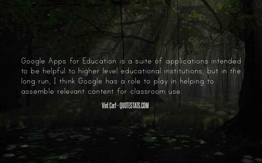 Quotes About Educational Institutions #322069
