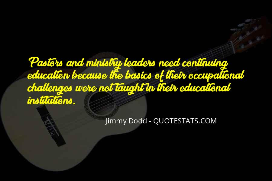 Quotes About Educational Institutions #763872
