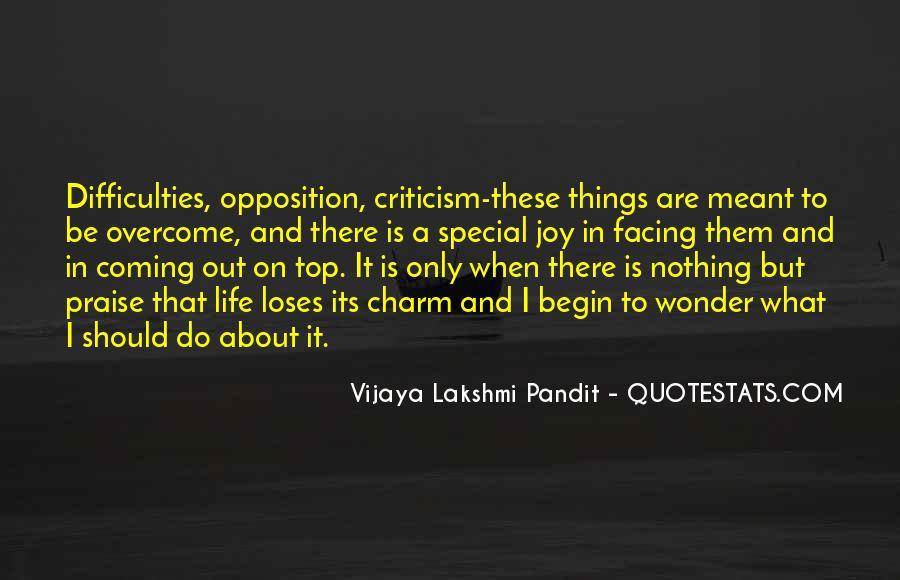 Quotes About Vijaya #1153673