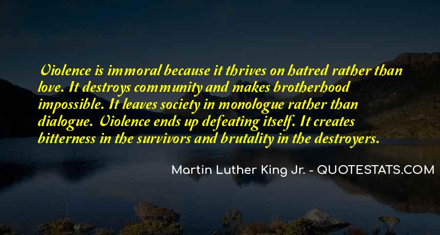 Quotes About Violence And Hatred #1643034