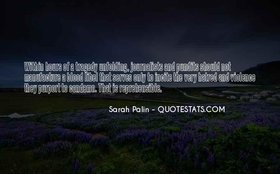Quotes About Violence And Hatred #628549