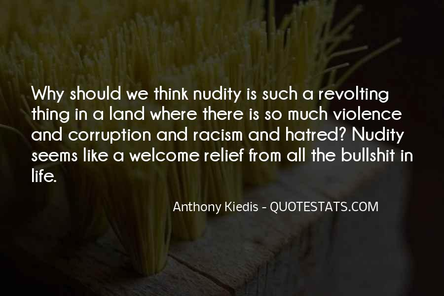 Quotes About Violence And Hatred #694885