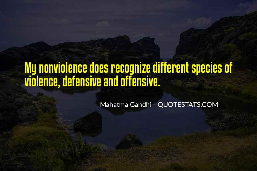 Quotes About Violence And Nonviolence #1388219