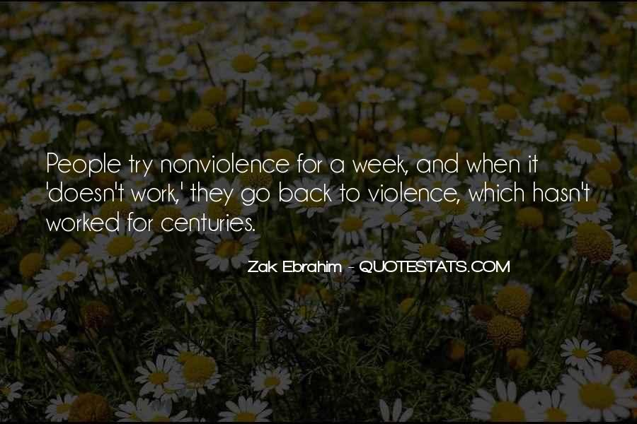 Quotes About Violence And Nonviolence #1455168