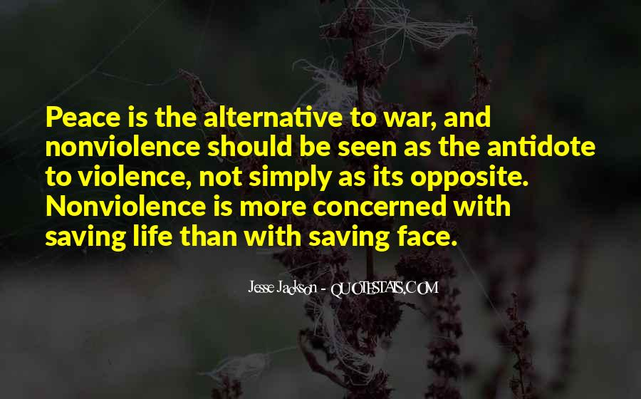 Quotes About Violence And Nonviolence #1546113