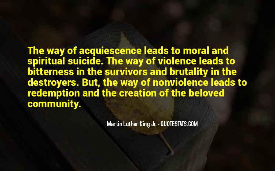 Quotes About Violence And Nonviolence #215545
