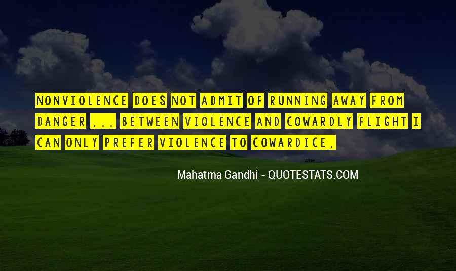 Quotes About Violence And Nonviolence #232561