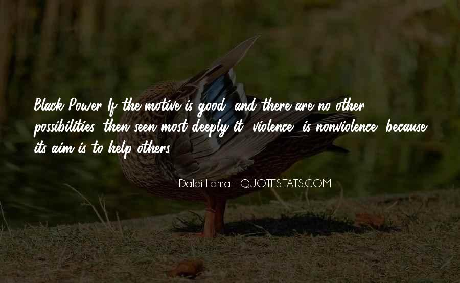 Quotes About Violence And Nonviolence #94690