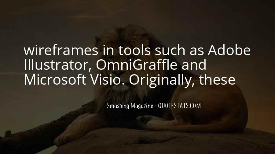 Quotes About Visio #307366