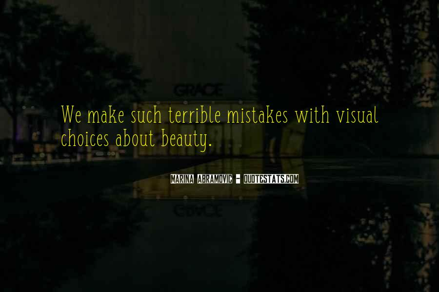 Quotes About Visual Beauty #297186