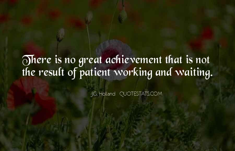 Quotes About Waiting For Great Things #71103