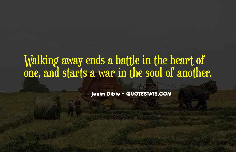 Quotes About Walking Away From The One You Love #229255