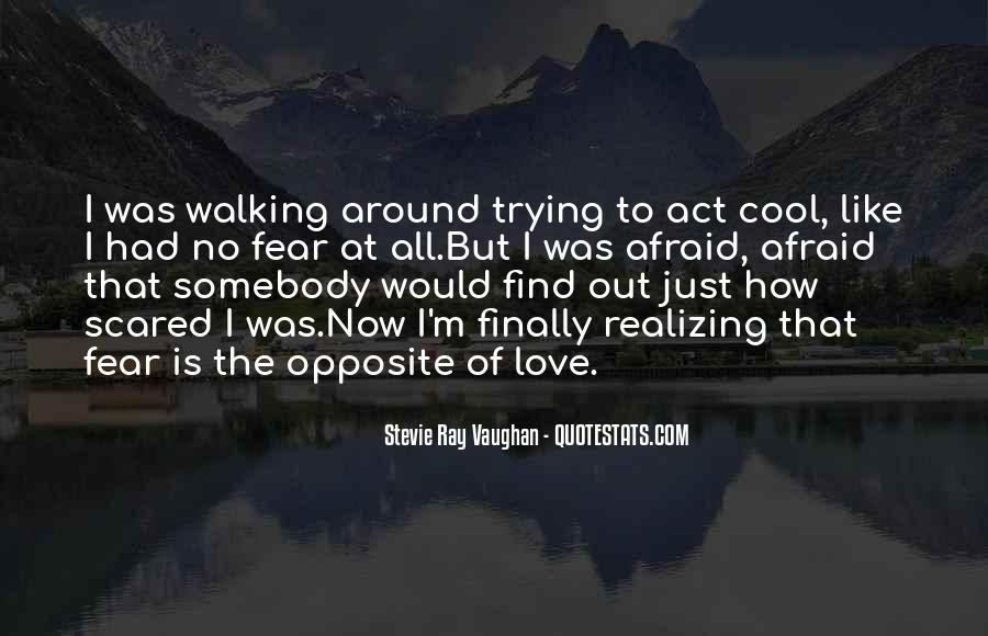 Quotes About Walking Away From The One You Love #349394