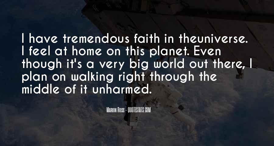 Quotes About Walking In Faith #1461511