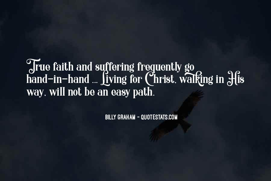 Quotes About Walking In Faith #496515
