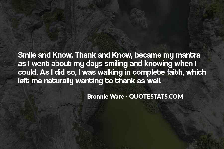 Quotes About Walking In Faith #912597