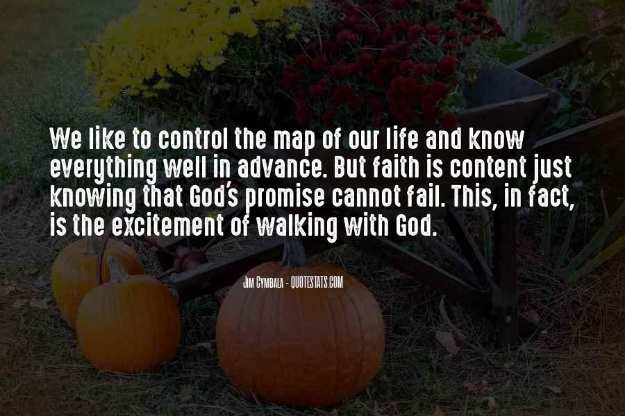 Quotes About Walking In Faith #947945