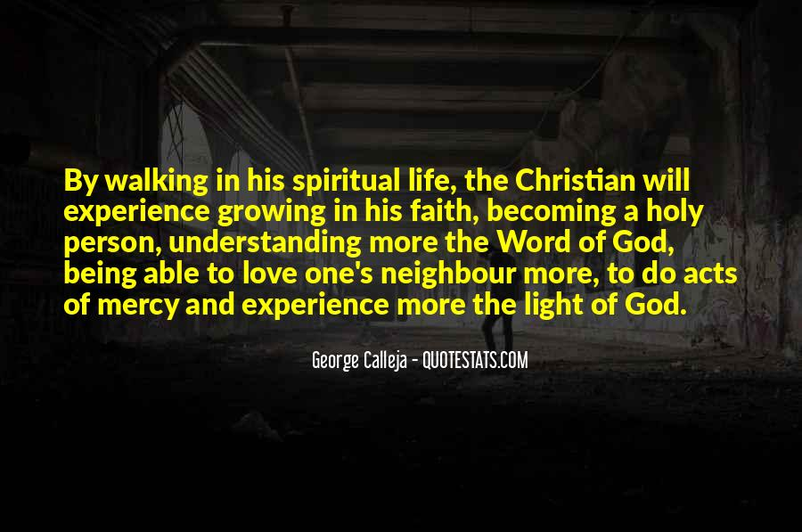 Quotes About Walking In Faith #989704