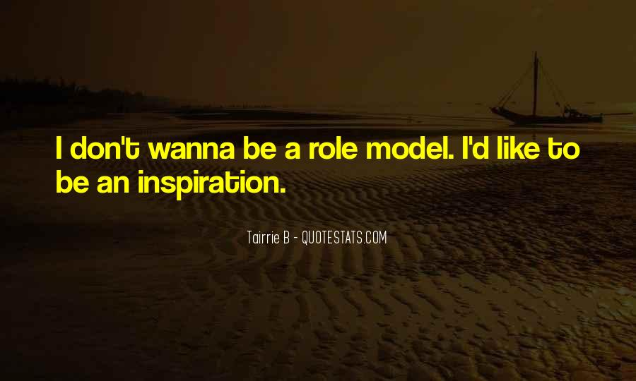 Quotes About Wanna Be Models #950886