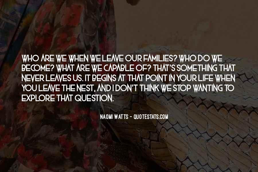 Quotes About Wanting A Family #666418