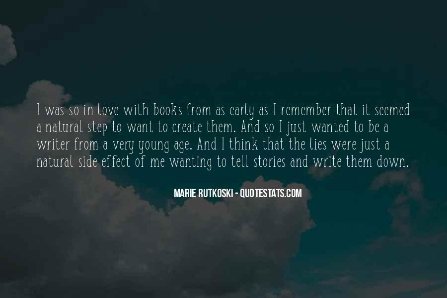 Quotes About Wanting To Be A Writer #1780745