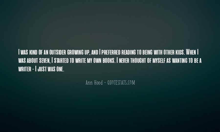 Quotes About Wanting To Be A Writer #25141