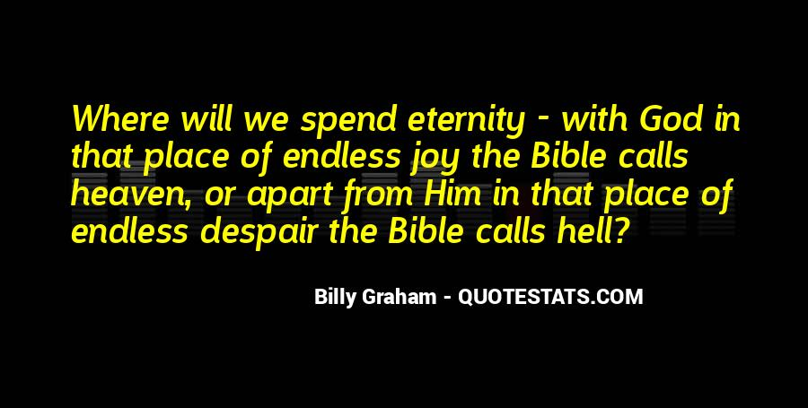 Quotes About Eternity With God #323135