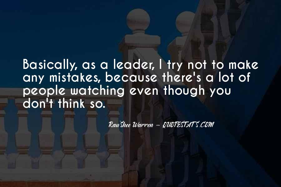 Quotes About Watching Others Make Mistakes #400219
