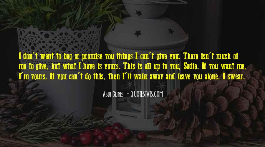 Quotes About I Promise You #124153